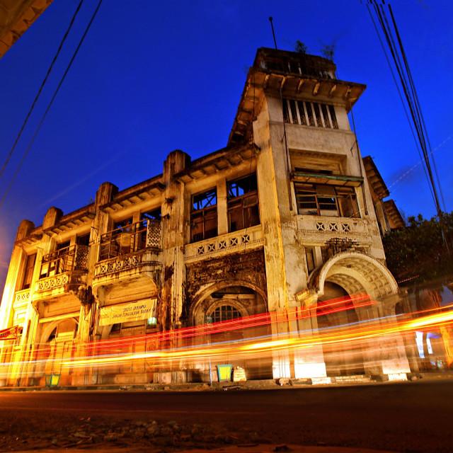 """Medan Old Town"" stock image"