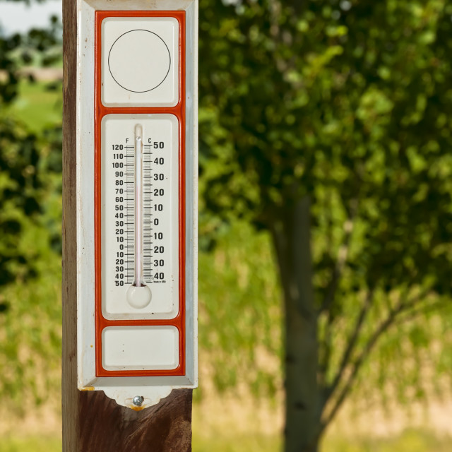 """""""Classic thermometer"""" stock image"""