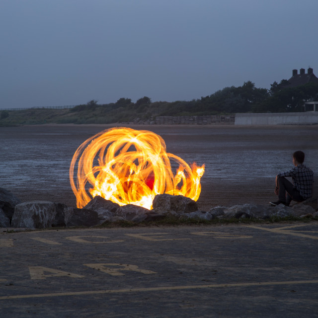 """Beach Burner"" stock image"