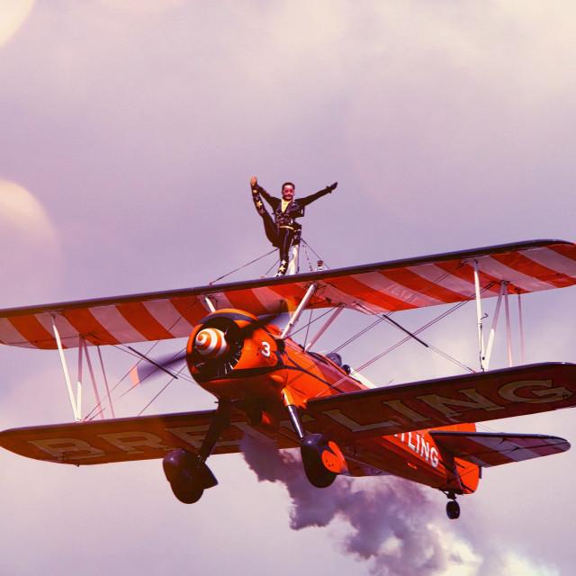 """Wing Walker"" stock image"