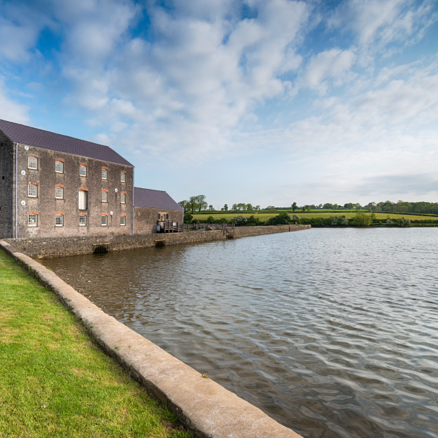 """Carew Tidal Mill"" stock image"