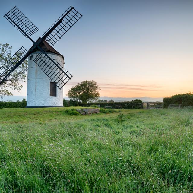 """Dawn Ashton Windmill"" stock image"