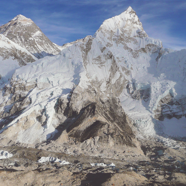 """Mount Everest, Nepal"" stock image"