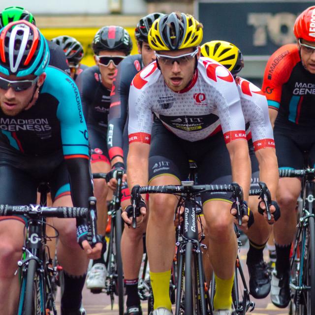 """Road racing cyclists"" stock image"