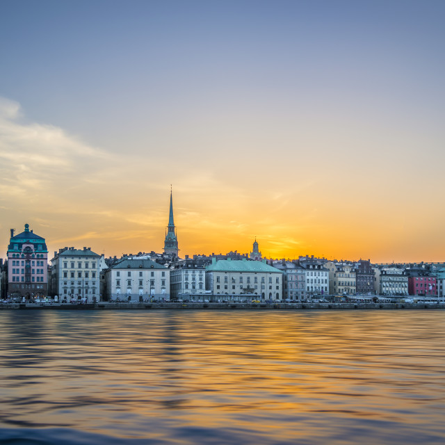 """Old Town, Stockholm."" stock image"