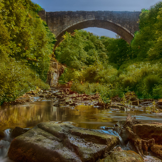 """Causey Arch"" stock image"