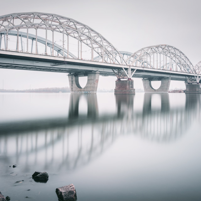 """New Darnystkyi Bridge 