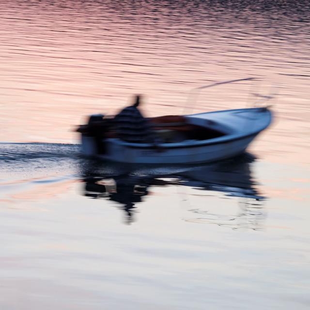"""Little boat"" stock image"