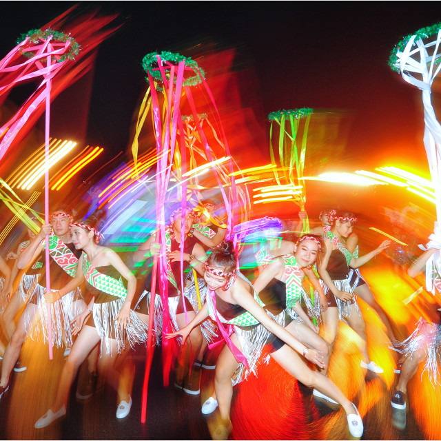 """Night Festival in Nha Trang"" stock image"