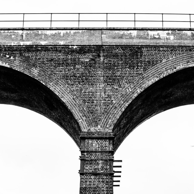 """Viaduct Arches"" stock image"