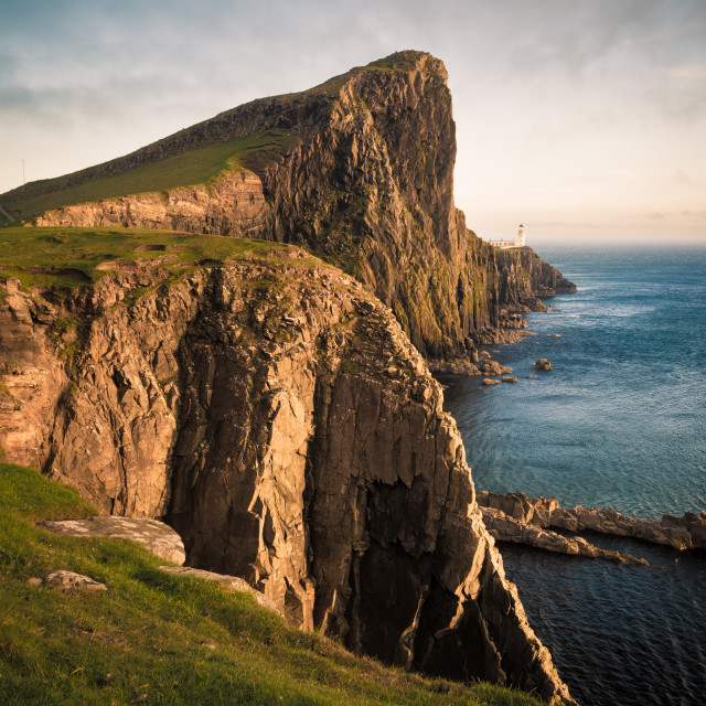 """Neist Point Golden Hour"" stock image"