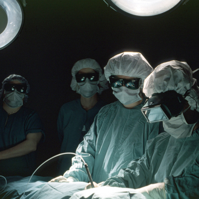 """Laser Surgery"" stock image"