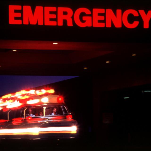 """EMERGENCY"" stock image"