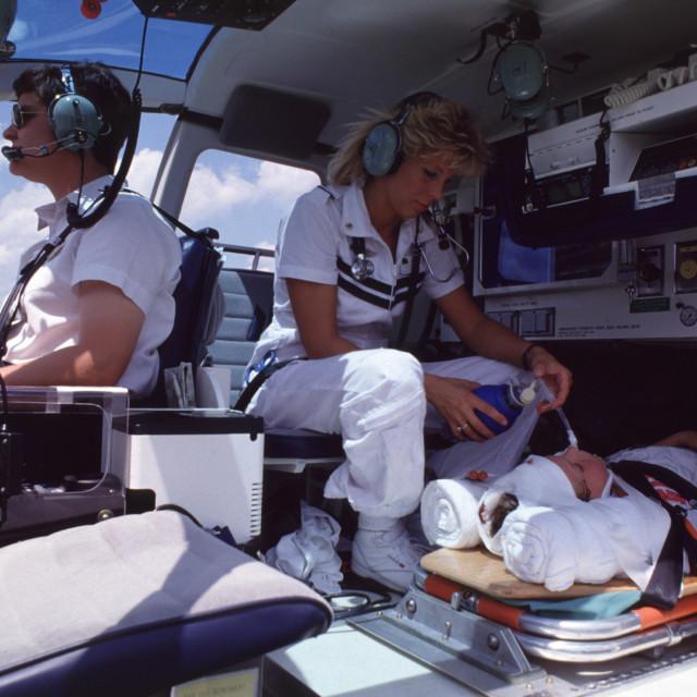 """Flight Nurse"" stock image"