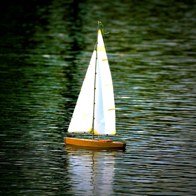 """Model Boat"" stock image"