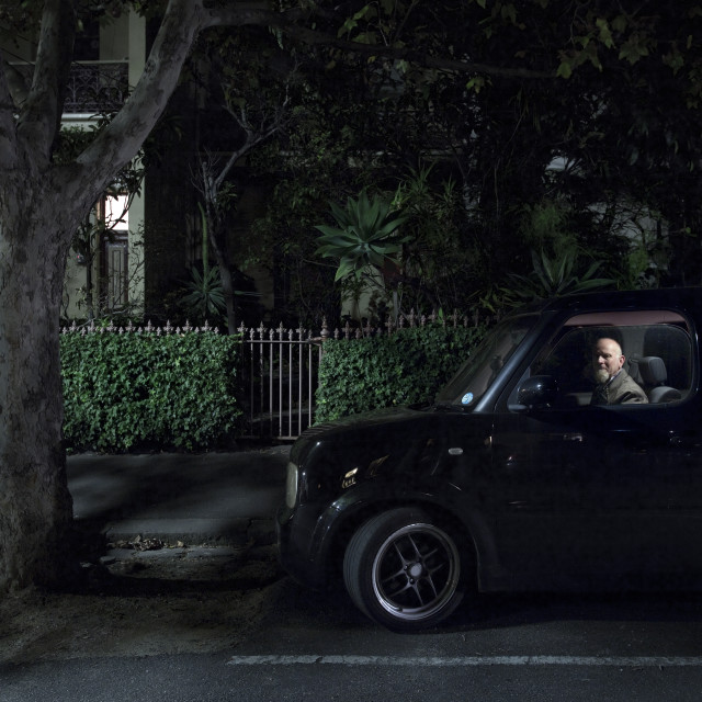 """In My Car"" stock image"