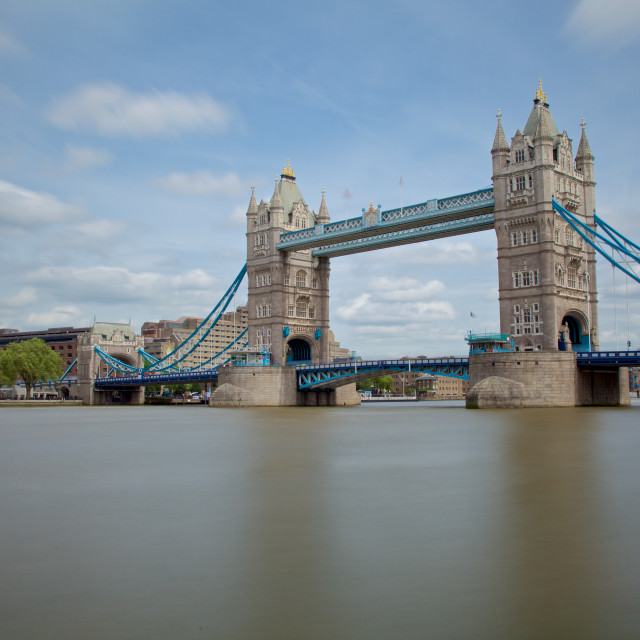 """Tower Bridge in London"" stock image"