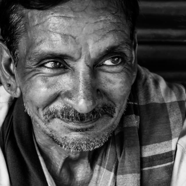"""Portraits Of Delhi"" stock image"