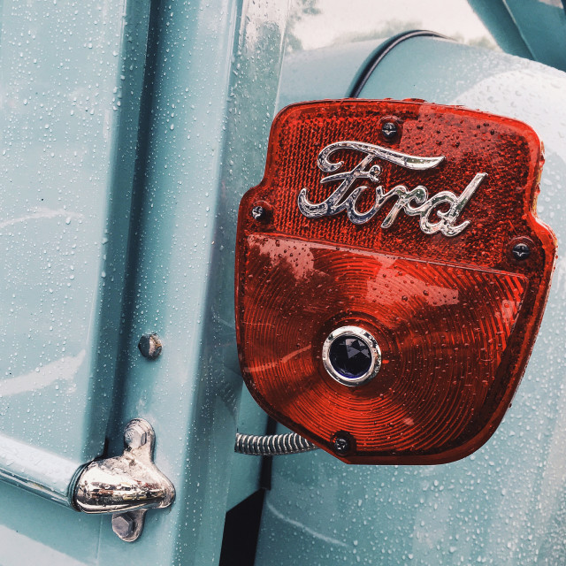 """Ford F100"" stock image"