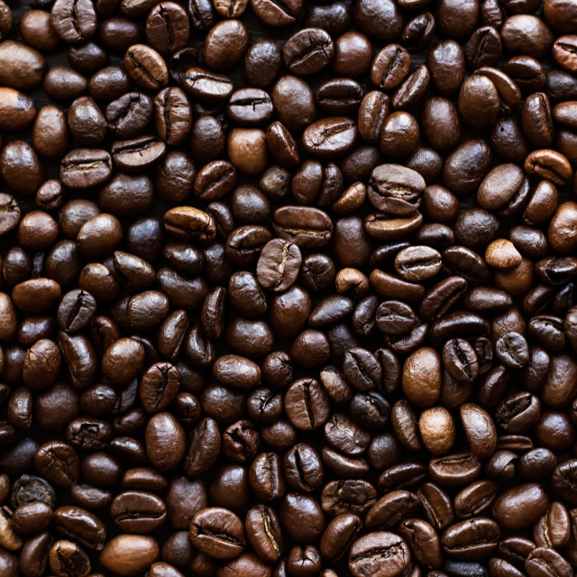 """""""Background of coffee beans"""" stock image"""