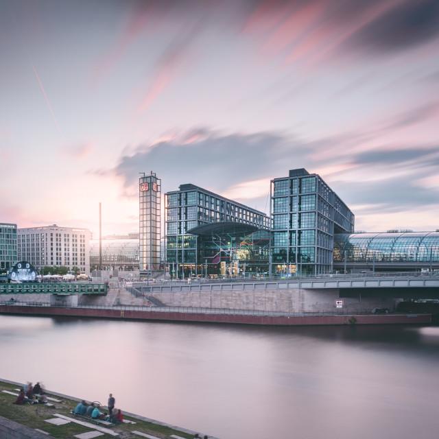 """Berlin Hauptbahnhof I Berlin, Germany 2016"" stock image"