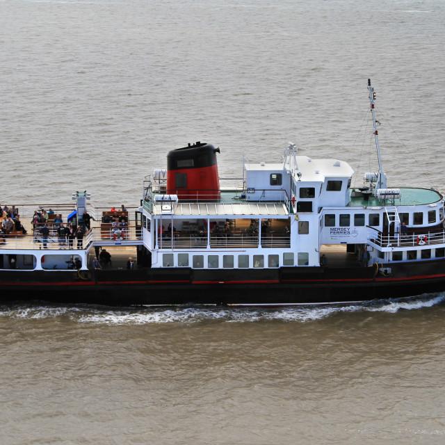 """Mersey Ferry Royal Iris"" stock image"