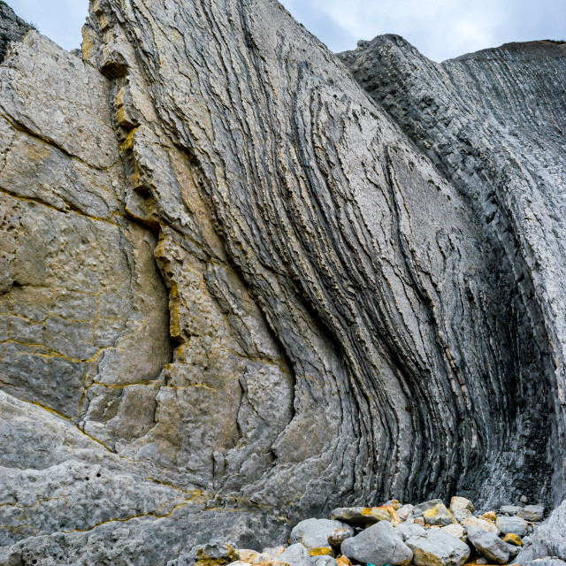 """Flysch detail"" stock image"