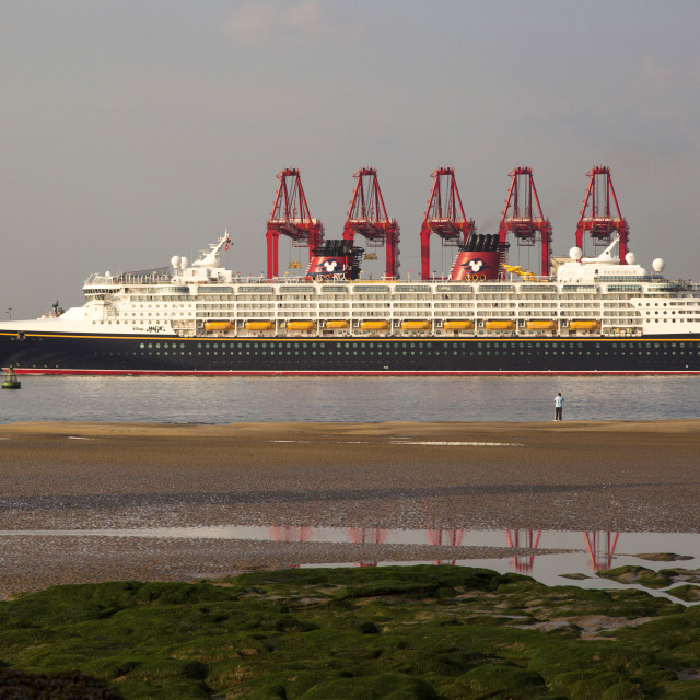 """Disney Magic Cruise Liner"" stock image"