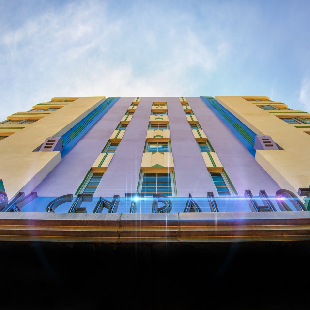"""Park Central Hotel Miami"" stock image"