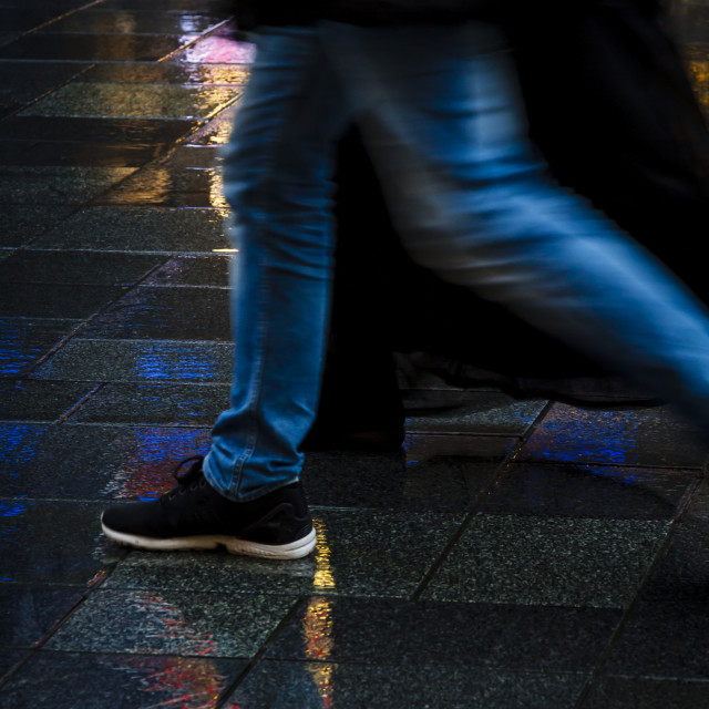 """People walking together"" stock image"