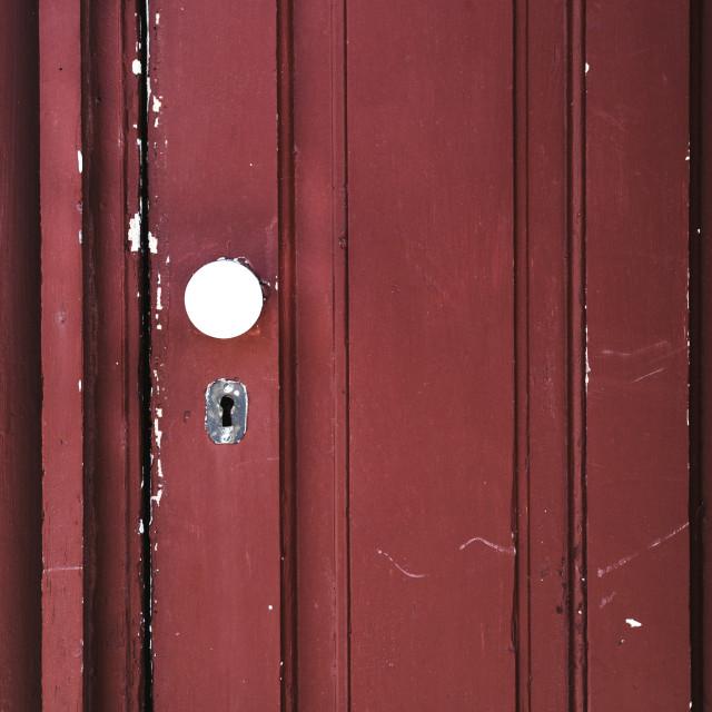 """""""The Keyhole"""" stock image"""