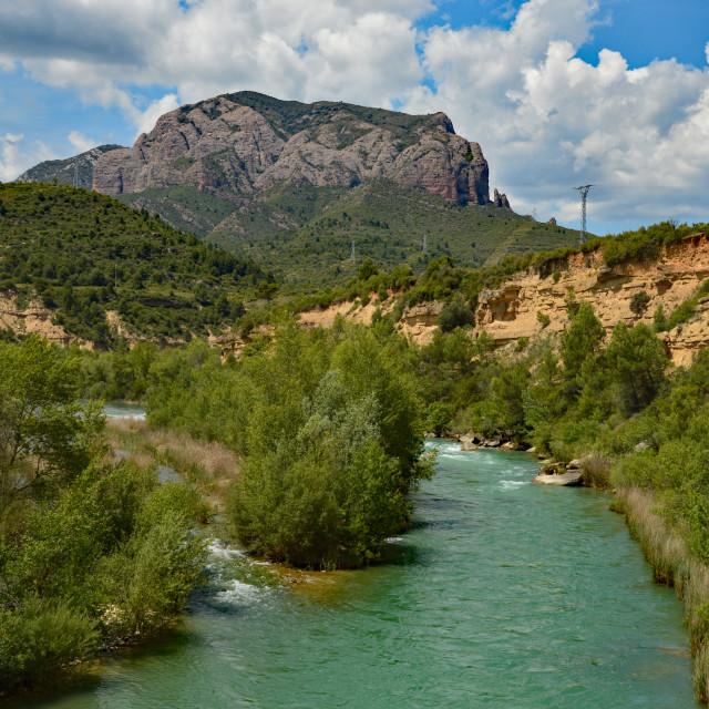 """River Deep Mountain High"" stock image"