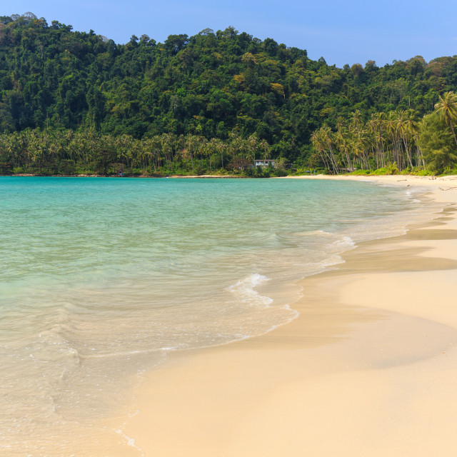 """Tropical sea shore in Thailand"" stock image"
