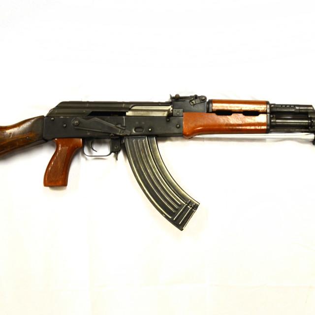 """""""AK 74 5.54mm China 1974"""" stock image"""
