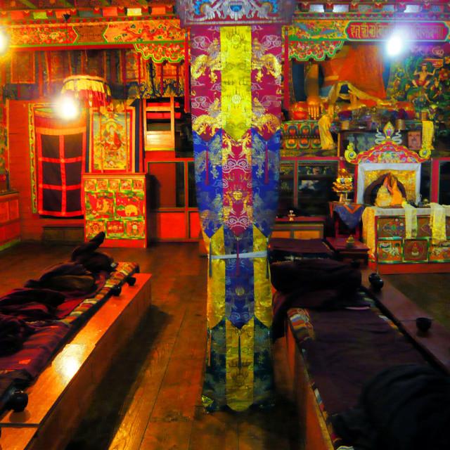 """Tengboche monastery, Nepal"" stock image"