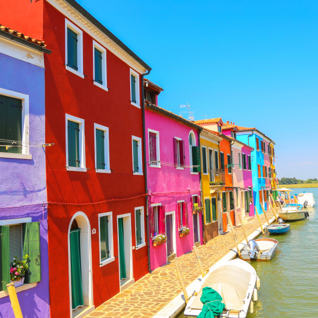 """""""Multicolor houses"""" stock image"""