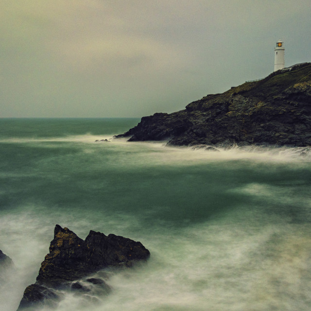 """Trevose Lighthouse"" stock image"