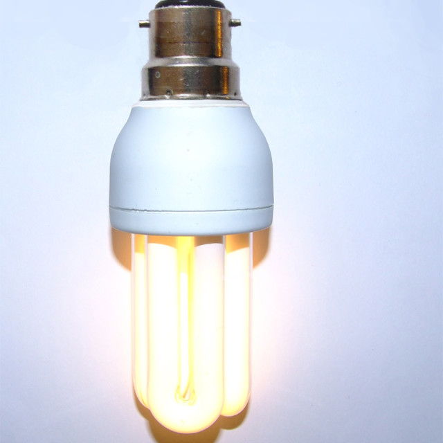 """Energy Saving Lightbulb"" stock image"