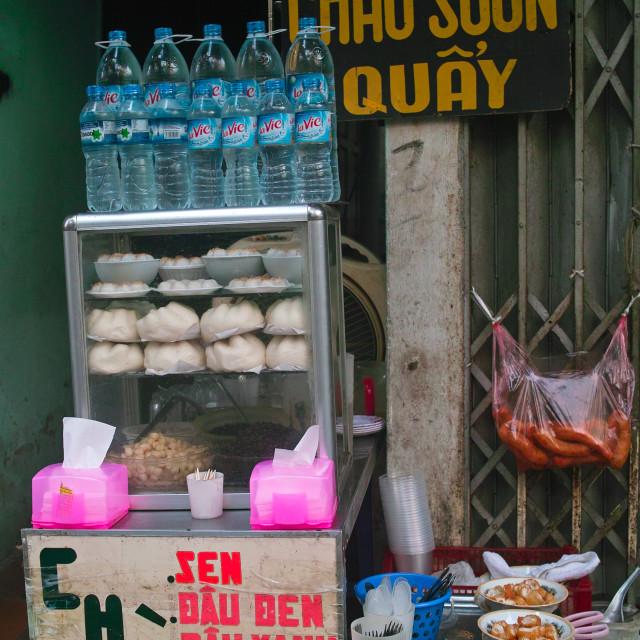"""Street foods in Hanoi"" stock image"
