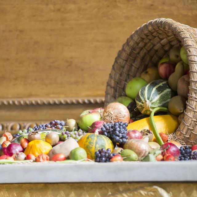 """Fruit & Veg"" stock image"