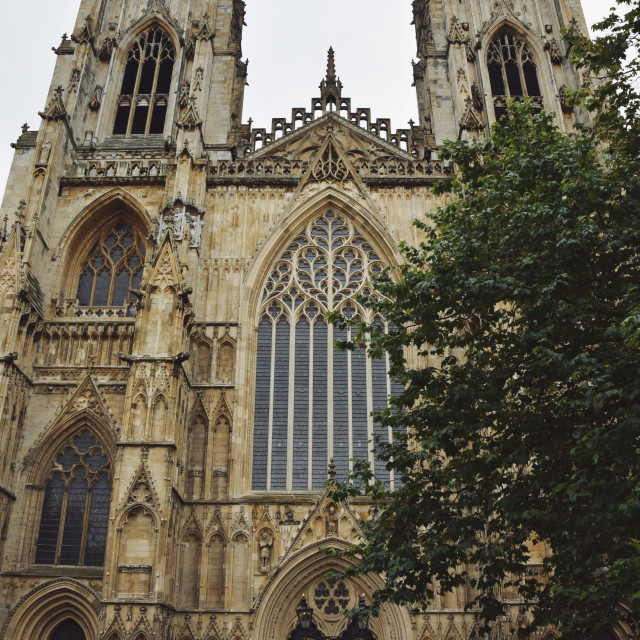 """York Minster pt 2"" stock image"