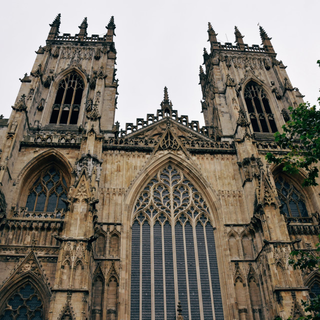 """York Minster pt 1"" stock image"