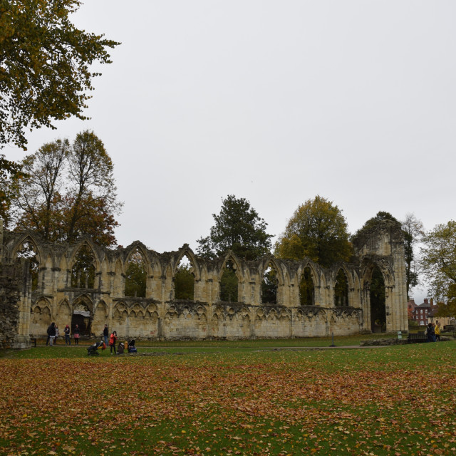 """St Mary's Abbey pt 3"" stock image"