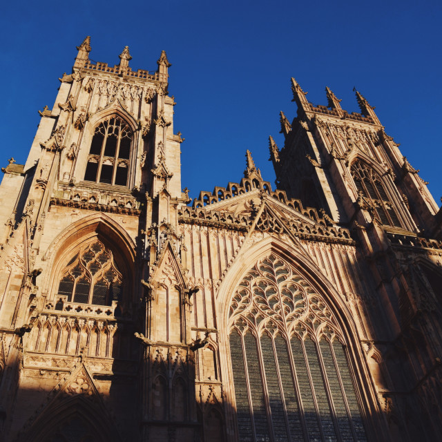 """York Minster 3"" stock image"