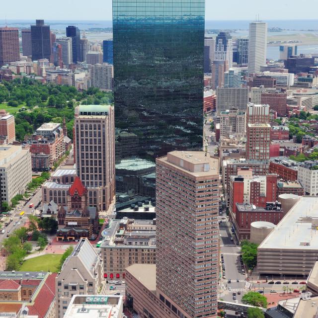 """Boston skyline"" stock image"