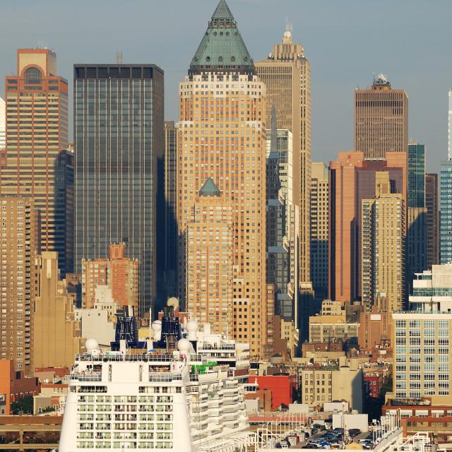 """New York City skyscrapers"" stock image"