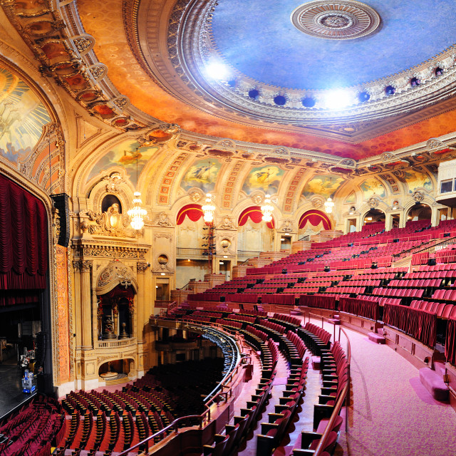 """Chicago Theatre"" stock image"