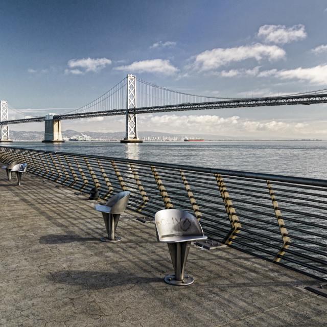 """Bay Bridge"" stock image"