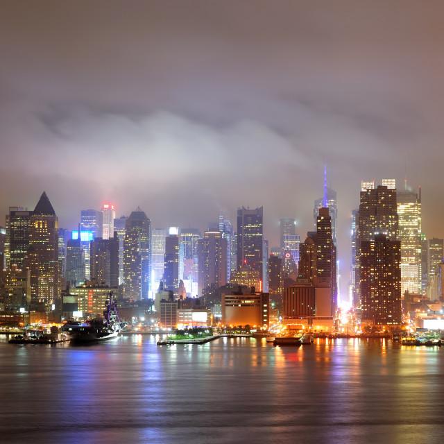 """New York City Manhattan"" stock image"