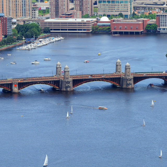 """Boston Charles River"" stock image"